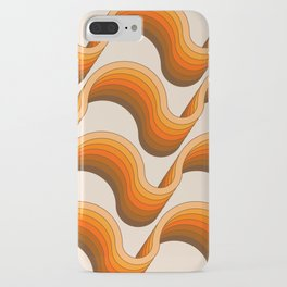 Golden Ribbons iPhone Case