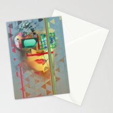 Warped Vision Stationery Cards