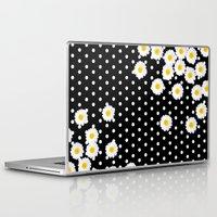 daisy Laptop & iPad Skins featuring DAISY by Monika Strigel
