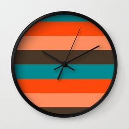 Colour_POP_ART_001 Wall Clock
