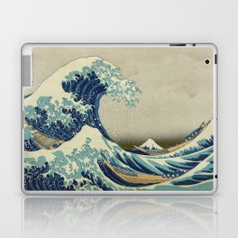 Great Wave Off Kanagawa (Kanagawa oki nami-ura or 神奈川沖浪裏) Laptop & iPad Skin