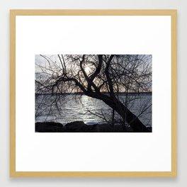 Inbetween Framed Art Print