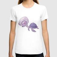 sea turtle T-shirts featuring Sea Turtle by John Schwegel