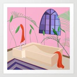 Bathed Art Print