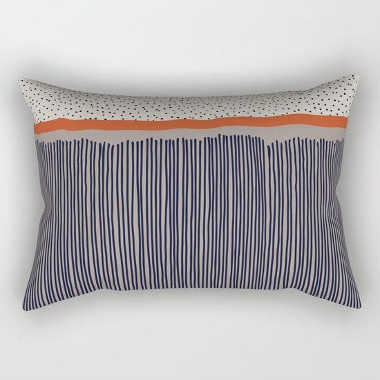 stripes and dots Rectangular Pillow