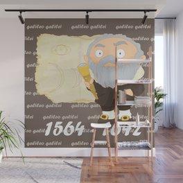 Galileo Galilei Wall Mural