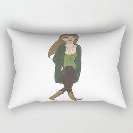 Shaggy Genderbend Rectangular Pillow