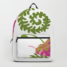D. Elpenor Moth and Ferns 2 Backpack