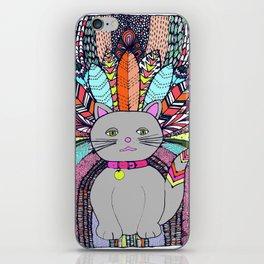 Carnival Cat iPhone Skin