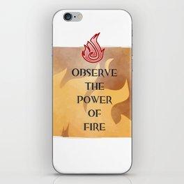 Fire Attunement iPhone Skin