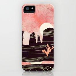 Rose Desert iPhone Case