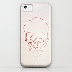One line Aladdin Sane Slim Case iPhone 5c