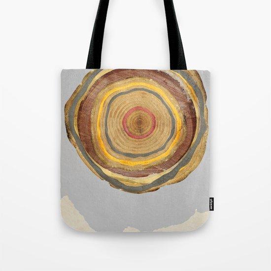 Tree Rings Tote Bag