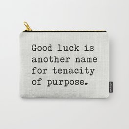 RALPH WALDO EMERSON best quotes 5 Carry-All Pouch