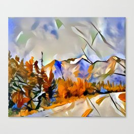 Yukon Gold Canvas Print