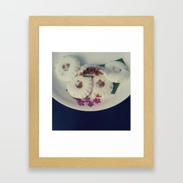 Kueh TuTu Framed Art Print