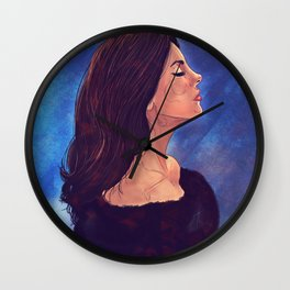 Lizzy grant Wall Clock