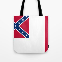 Bloodstained Banner Of The Confederacy Tote Bag