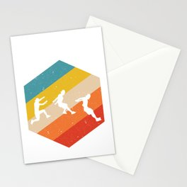 Retro Parkour product Gift Funny Vintage Parkour design Stationery Cards