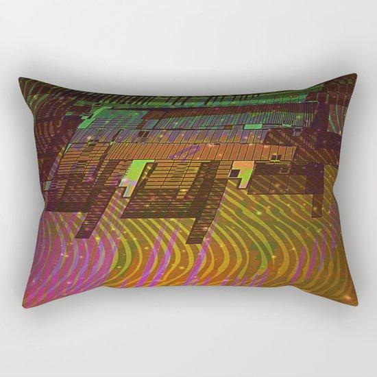 Building 08-07-16 / COSMIC MIRROR at NIGHT Rectangular Pillow