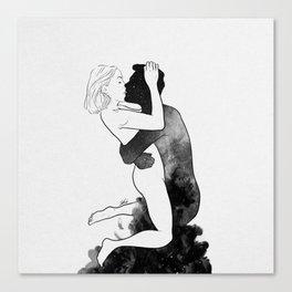 L'amour. Canvas Print