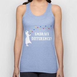 Autism It's Always A Great Day To Be Amazing Autism Support Gift Unisex Tank Top