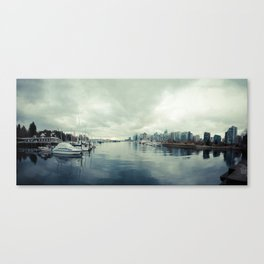 Vancouver Panorama 2 Canvas Print