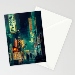 Tokyo Nights / Memories of Green / Blade Runner Vibes / Cyberpunk / Liam Wong Stationery Cards