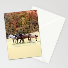Horses Valley Stationery Cards