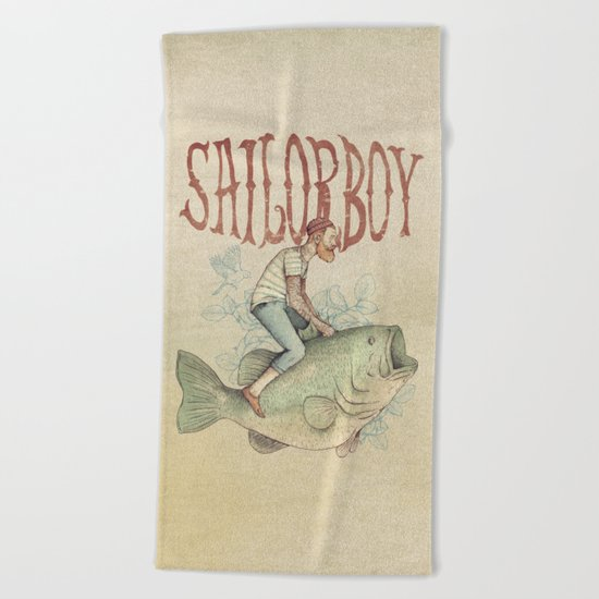 Sailorboy Beach Towel