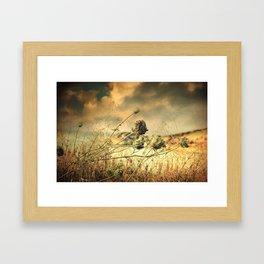 Sad Song Of The Wind Framed Art Print