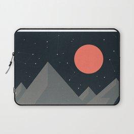 Retro Camping Laptop Sleeve
