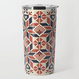 Plaestine border Travel Mug