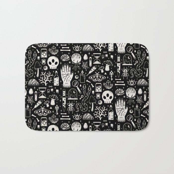 Curiosities: Bone Black Bath Mat