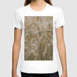 Wheat Weave Pattern T-shirt
