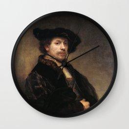 Self-portrait at 34 Wall Clock
