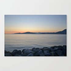 on a western shore Canvas Print