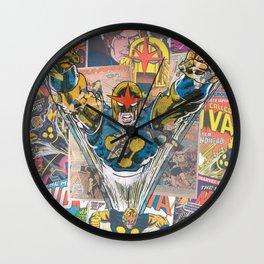 Nova Comic Art Wall Clock