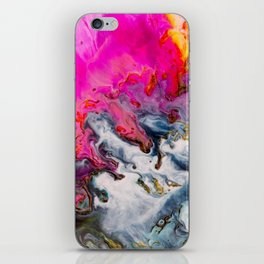 Abstract Melt XII iPhone Skin