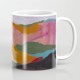 Roses Aren't Red 3 - Contemporary Abstract Landscape Coffee Mug