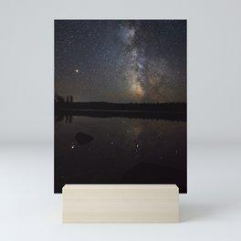 Milky Way over Swamper Lake Mini Art Print
