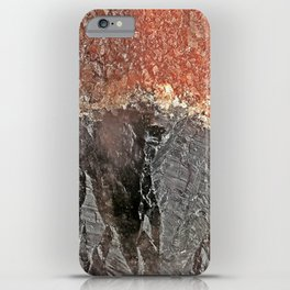 Red Capped Super Seven iPhone Case
