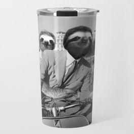 Sloth in Roman Holiday Travel Mug