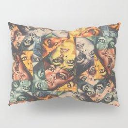 LSD Flesh Of The Devil Collage Pillow Sham