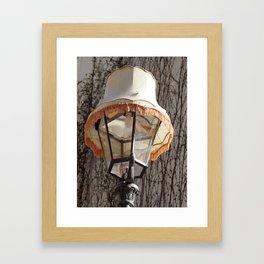Lamp on Lamp Framed Art Print