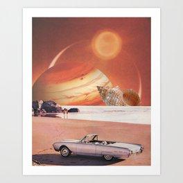 Sands of Jupiter Art Print