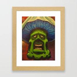 The Mushroom Man Framed Art Print