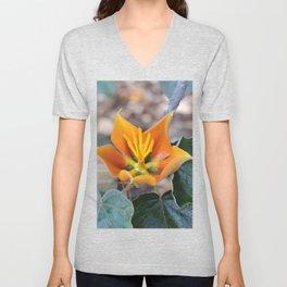 Fremontodendron Blossom Unisex V-Neck