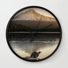 The Oregon Duck II - The Shake Wall Clock