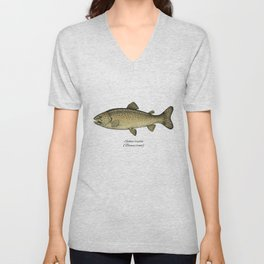 Brown trout Unisex V-Neck